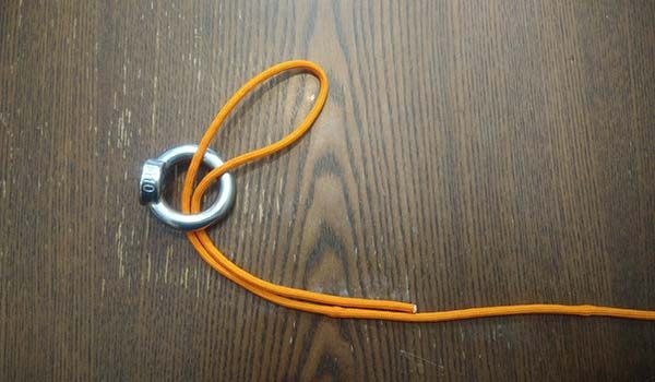 Magnet Fishing Knot - Palomar Step 2